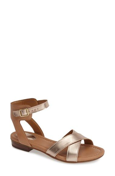 1983fd3f21d5 Clarks®  Viveca Zeal  Leather Ankle Strap Sandal (Women) available at   Nordstrom
