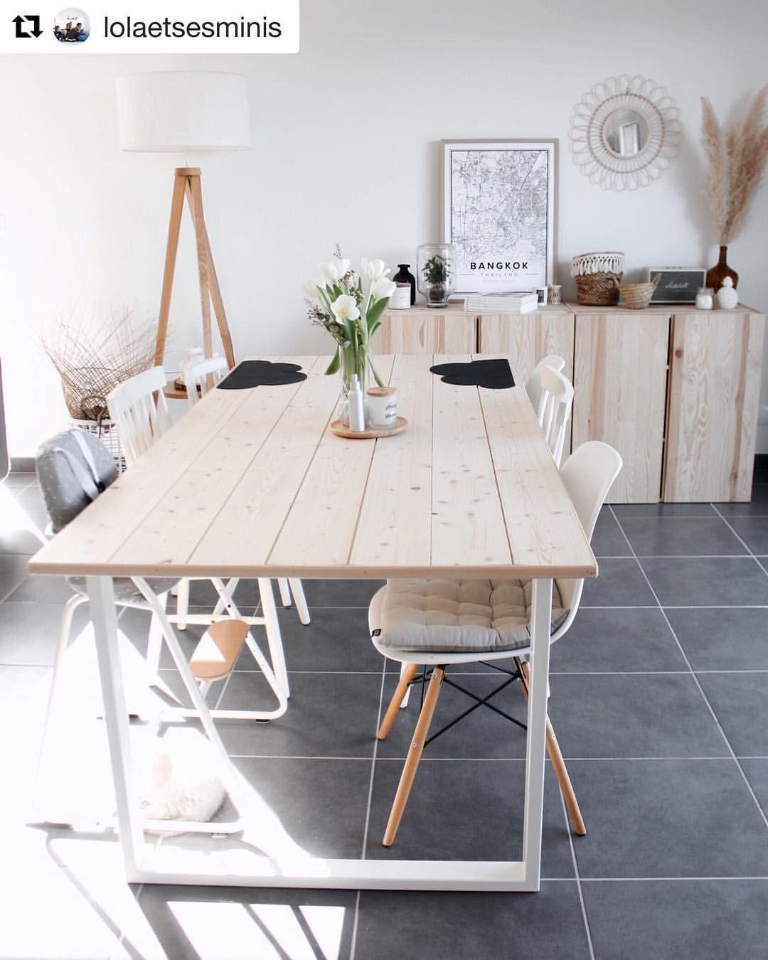 Ripaton Pieds De Table commode ikea et table atelier ripaton   amenagement salle à