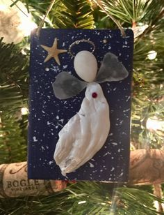A personal favorite from my Etsy shop https://www.etsy.com/listing/567039470/beachcomber-angel-ornament