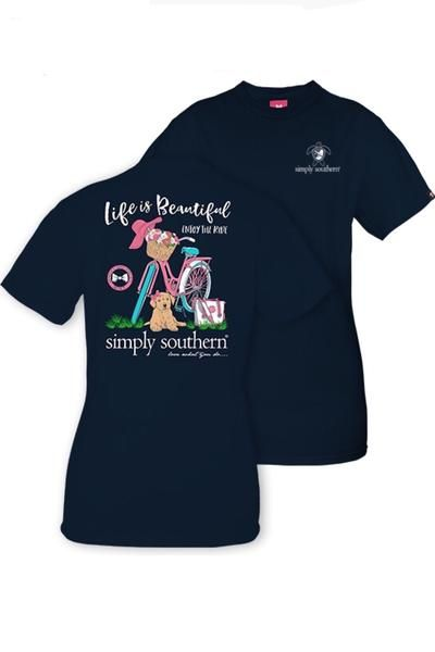 Simply Southern Youth Size Hurricane Relief T Shirt For Girls In
