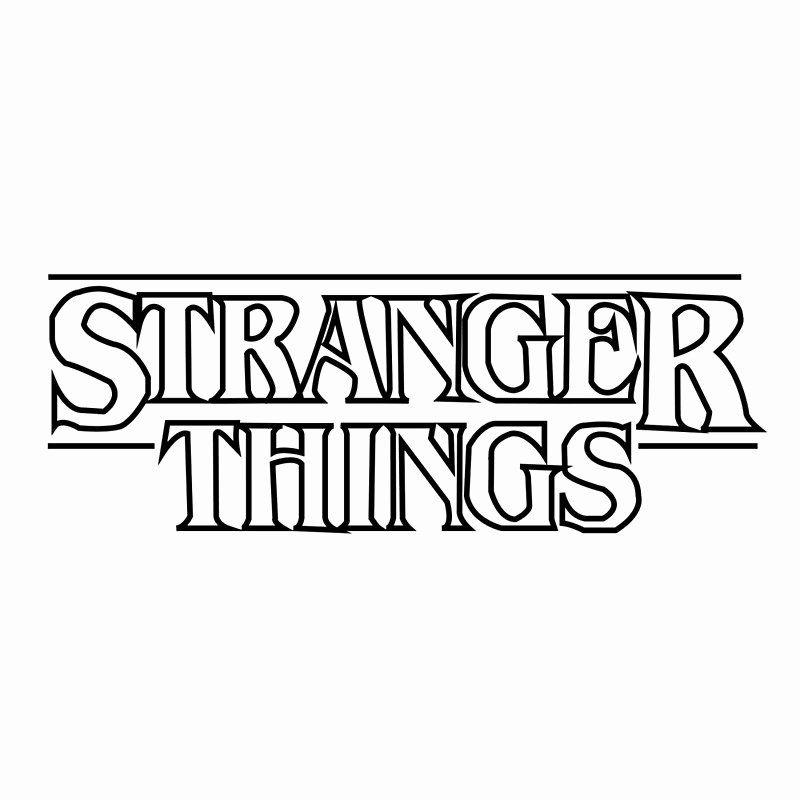 Stranger Things Coloring Book Best Of Stranger Things Logo Scarves Stranger Things Sticker Stranger Things Poster Stranger Things Logo