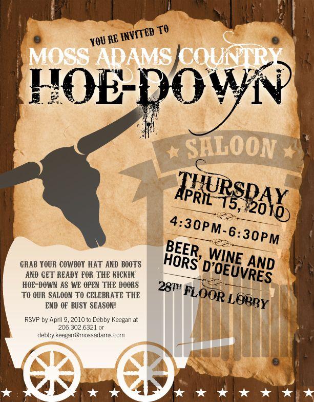 576c3bff2f057afc9c65ba6f9a0afa0f vintage hoedown invitation ultimate hoedown throwdown country,Hoedown Party Invitations