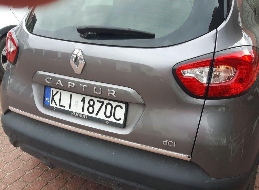 Renault Captur Chrom Zierleiste Heckleiste Chromleiste 3m Heckklappe Renault Captur Renault Car Door