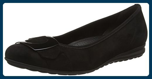 Gabor Shoes Damen Jollys Geschlossene Ballerinas, Schwarz (Schwarz 47), 42 EU