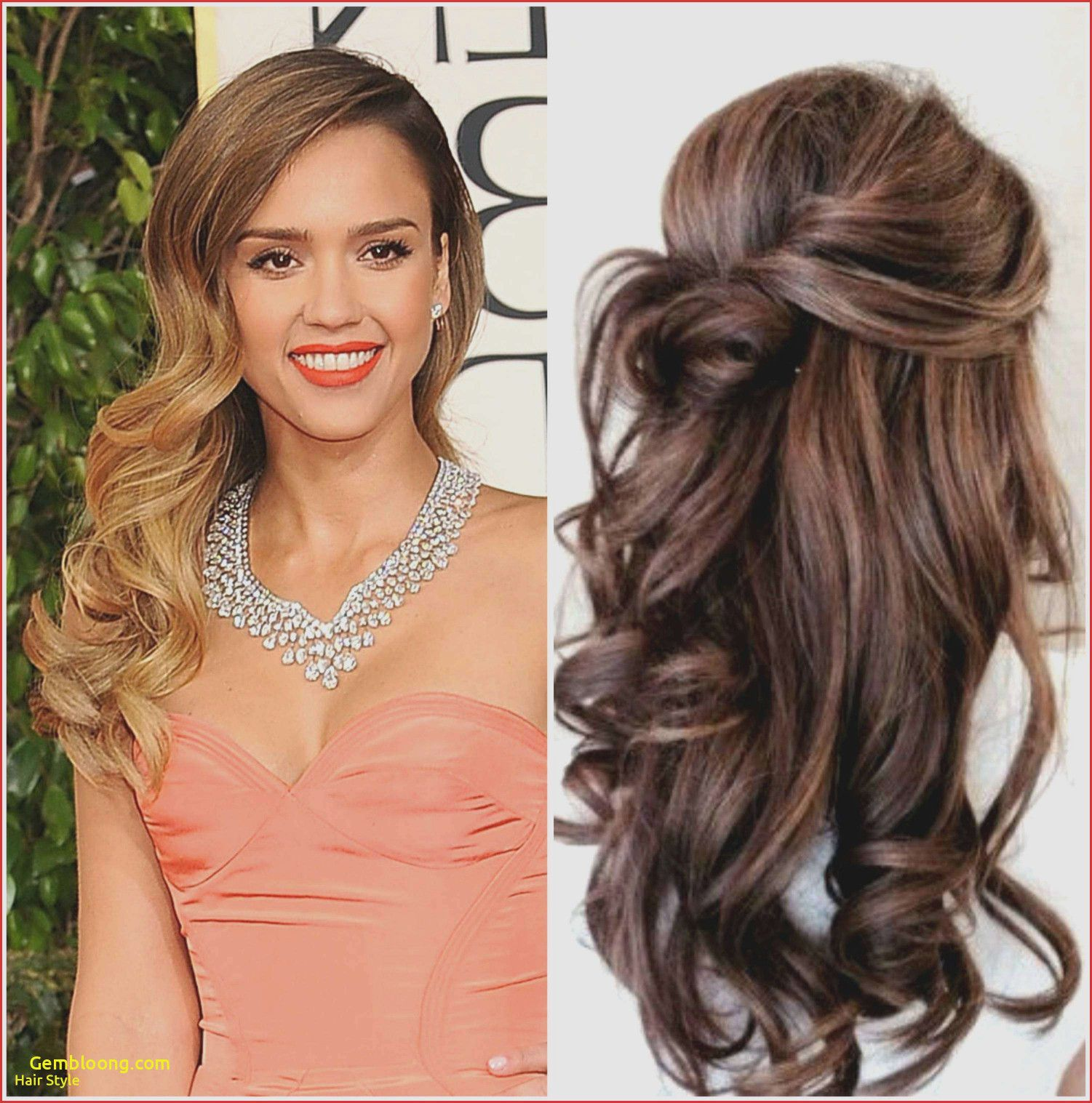 Ball Frisur Lange Haare Selber Machen   Medium hair styles, Long ...
