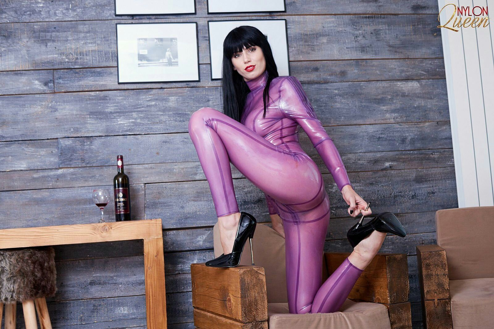 On latex catsuit asian babes latex images in Best pinterest