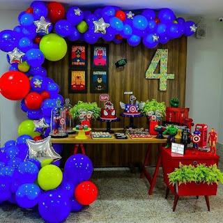 20 Decoraciones De Mesa De Dulces Para Fiesta De Los Vengadores En 2020 Fiesta De Los Vengadores Fiestas Infantiles Para Niños Cumpleaños De Los Vengadores