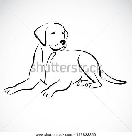 Image Result For Golden Retriever Silhouette Clip Art Dogs Draw