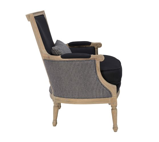 Augusta Striped Armchair Striped Armchair Armchair Striped Upholstery