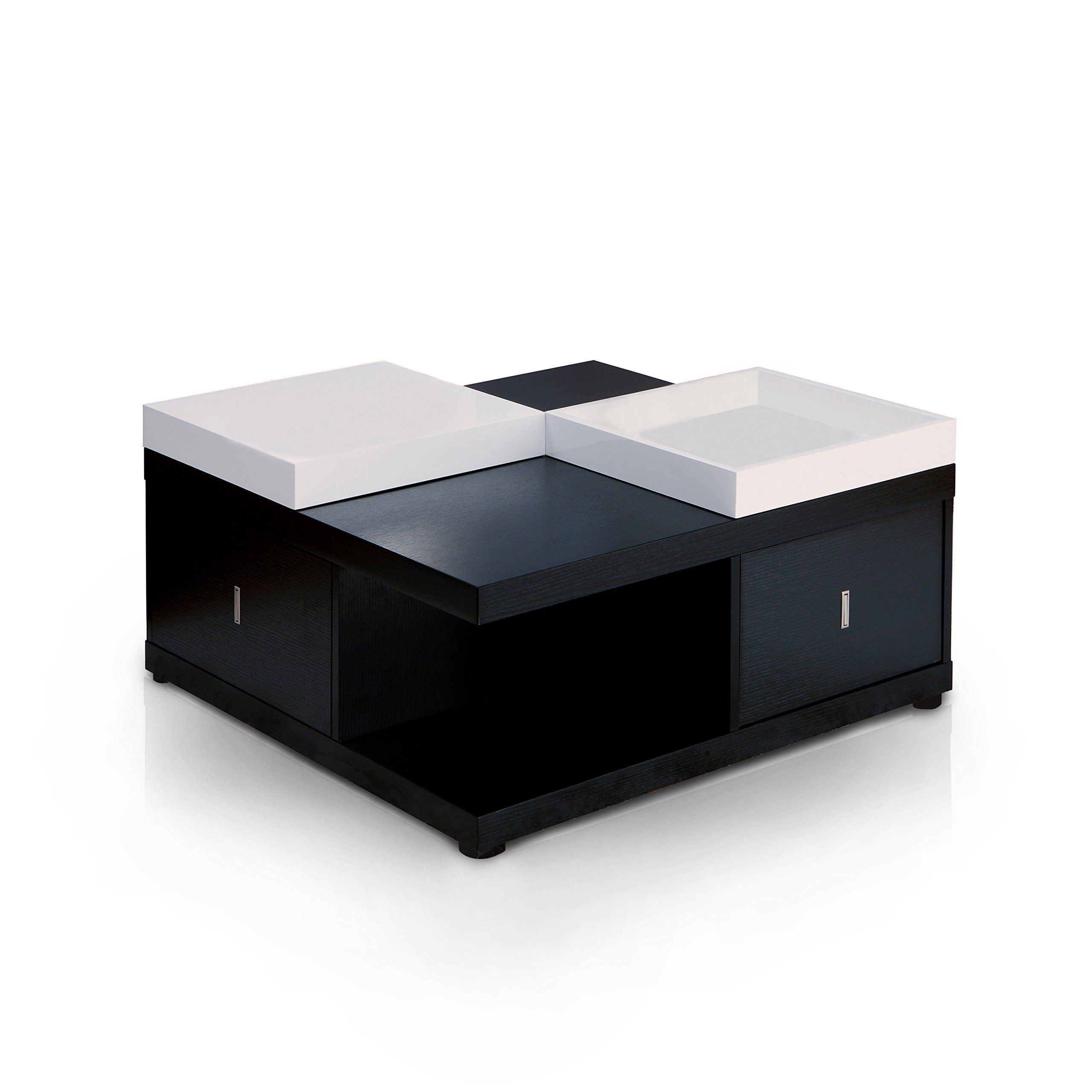 Iohomes Morgan Square Coffee Table With Serving Tray Black See This Great Product This Is An Aff Coffee Table Square Black Square Coffee Table Coffee Table [ 2560 x 2560 Pixel ]