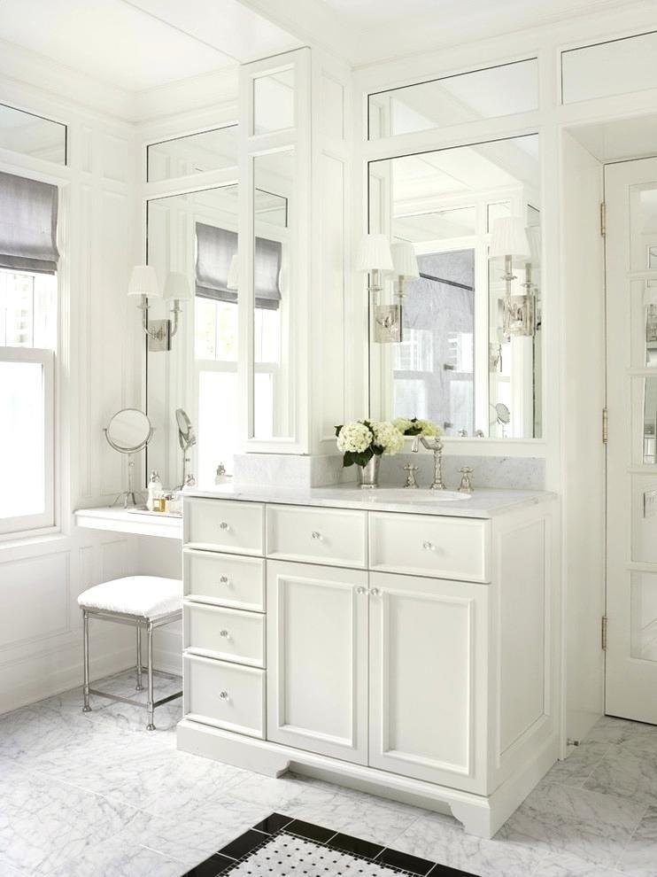 20 Savvy Bathroom Vanities & Vanity Storage Ideas images