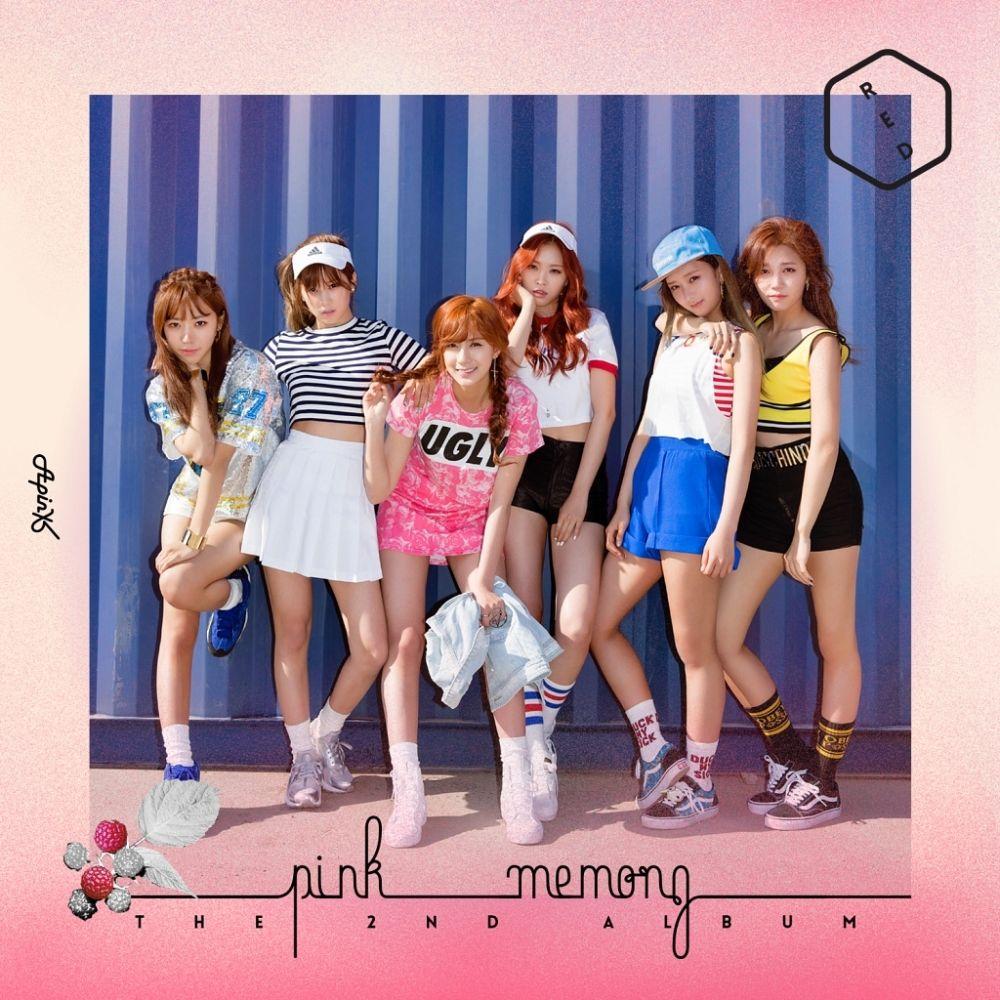 Apink - 'Pink MEMORY' Album Cover | ~~ Kpop Albums ~~ in