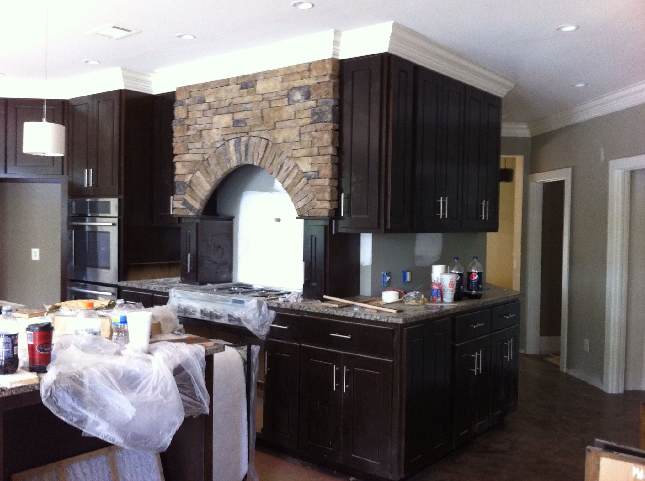 Unconventional Kitchen That Turns An Outside Corner This Was One Complicated Job Kitchen Design Kitchen Home