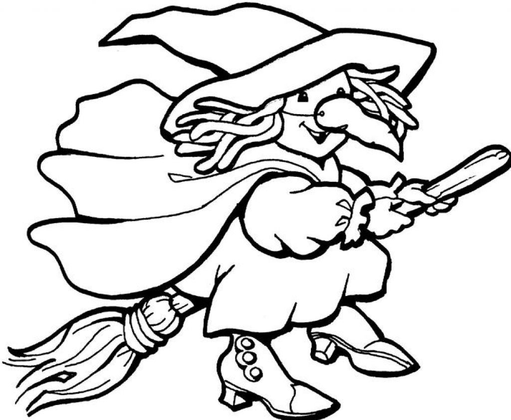 Coloring Pages Of Witches