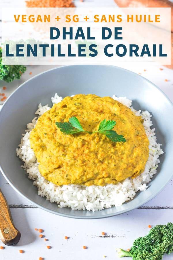 Dhal De Lentilles Corail Curry Et Coco