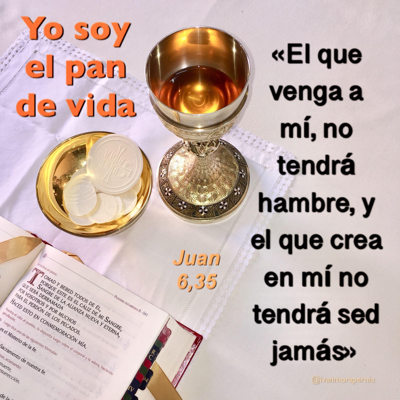 Juan 6 35 Yo Soy El Pan De Vida Perfume Bottles Perfume Bottle