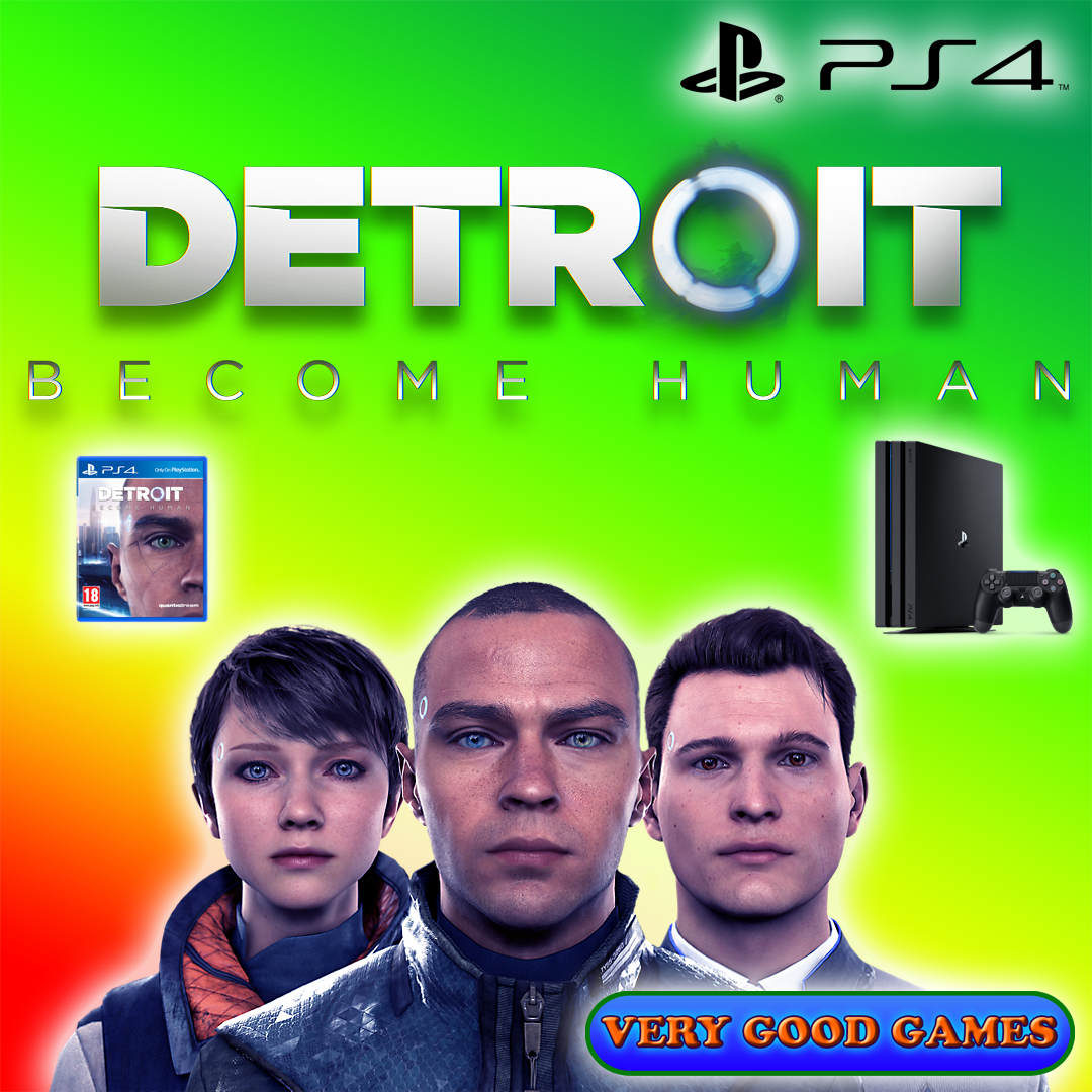 """""""Detroit Human"""" is released for PlayStation 4"""