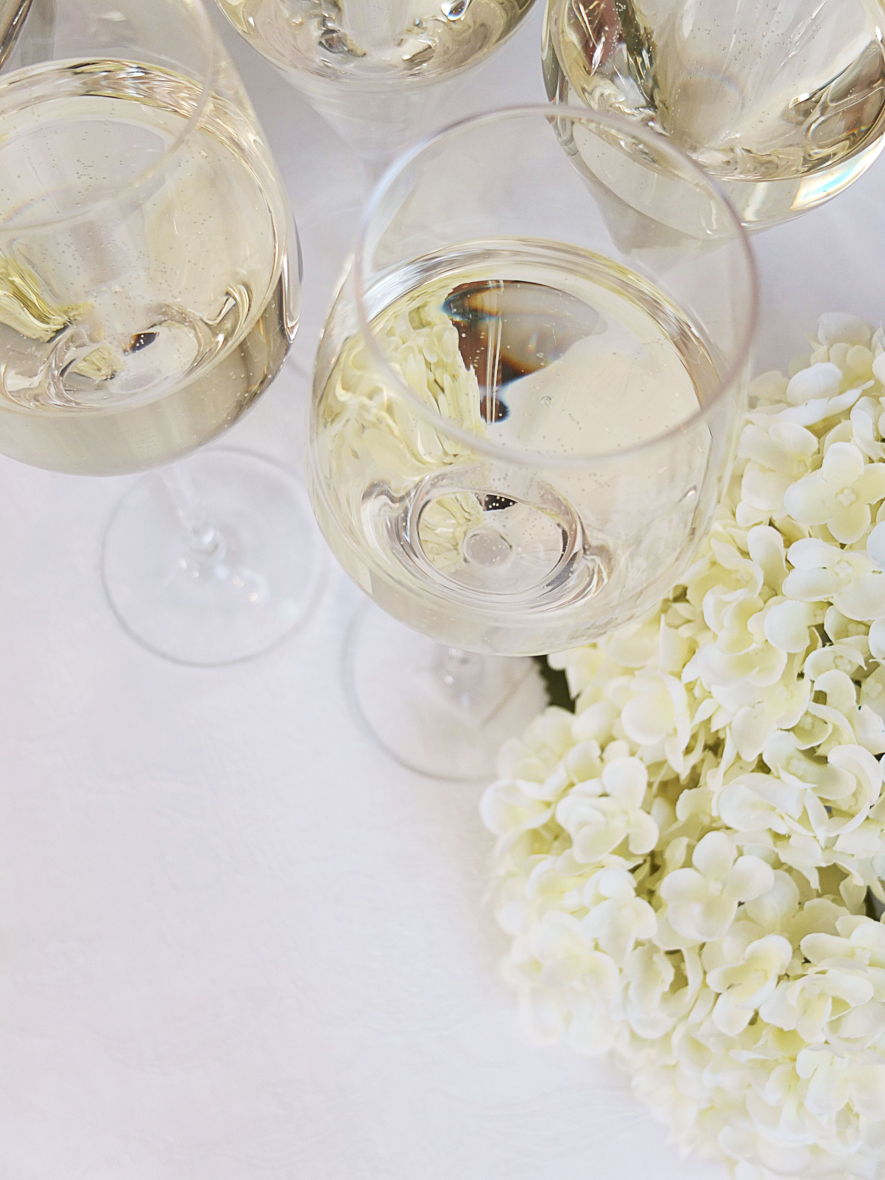 4 stk Hvitvin/champagneglass Dråpe | Kremmerhuset  #Kremmerhuset #Interior #Inspiration