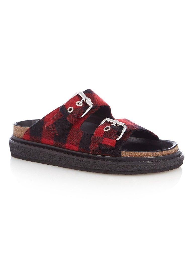41626abccc Ledkin slipper van flanel isabel marant | Slippers - Slippers ...