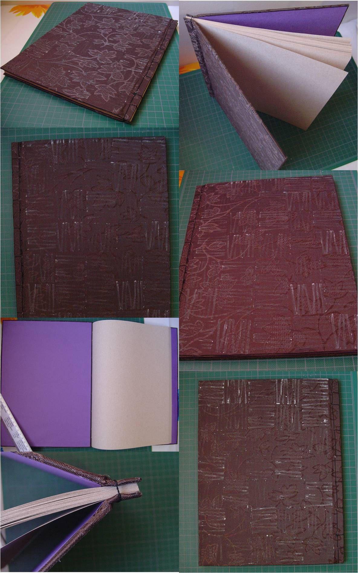 Libreta artesanal tamaño carta, pastas duras, cosido japonés. *** Para saber cómo comprar, clic acá (envíos a cualquier parte de México): http://raccontourahara.tumblr.com/post/100872015565/libretas-racconto-urahara