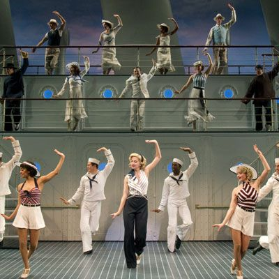 The Original Cast of Roundabout Theatre Company's Revival of Anything Goes (Joan Marcus)