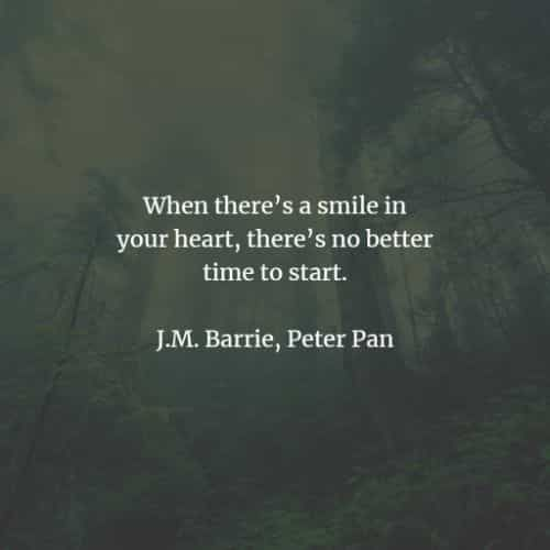 40 Famous Peter Pan quotes and sayings by J.M. Barrie