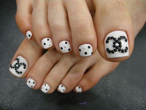 13 chanel nail art tumblr ny nails pinterest chanel nails 13 chanel nail art tumblr prinsesfo Images