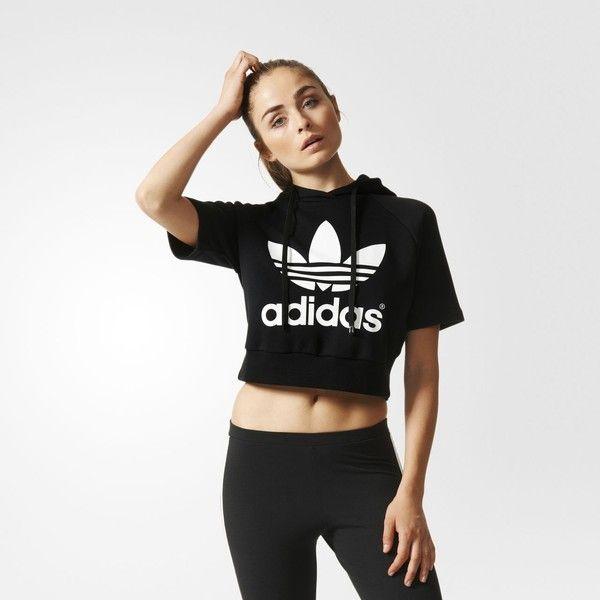Running Crop Hoodie | Adidas cropped hoodie, Cropped hoodie