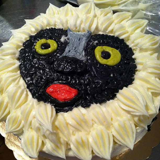 Fuck Yeah Lemurs ivybakery Lemur Cake lemur cake Angela Gray