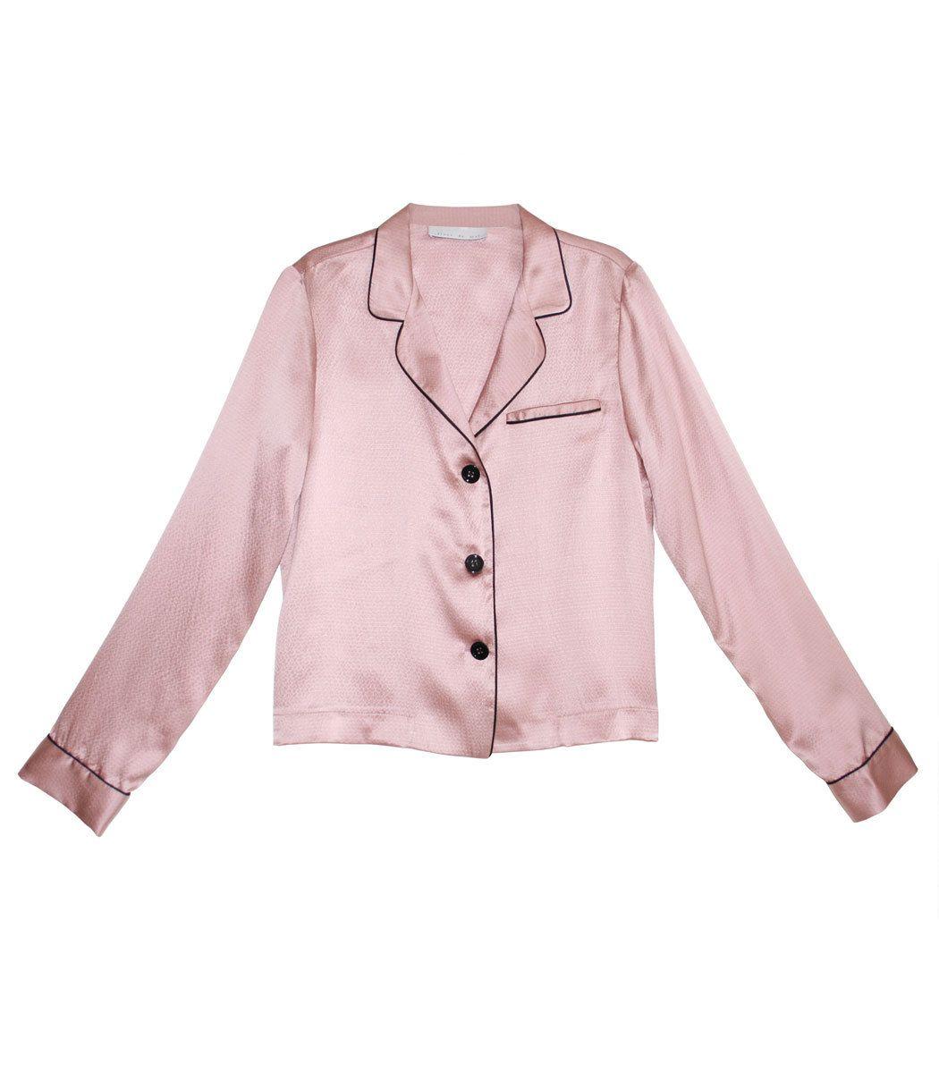 7a1d78ef6a Fleur Du Mal Rose Pink Pajama Top