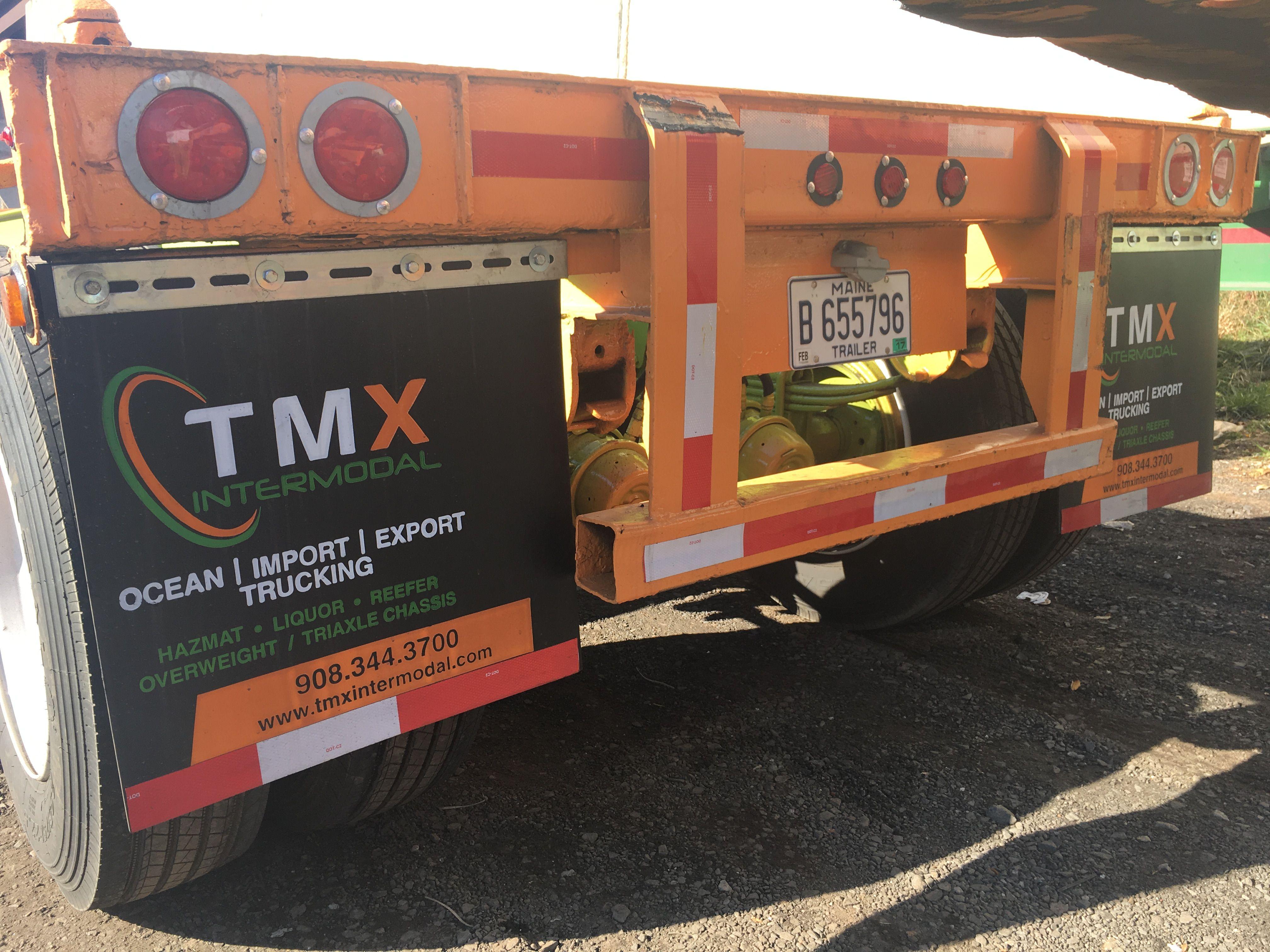 Tmx intermodal   Drayage service   Signs