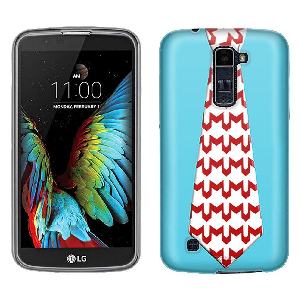 LG Premier LTE Christmas Necktie 6 Skim Case