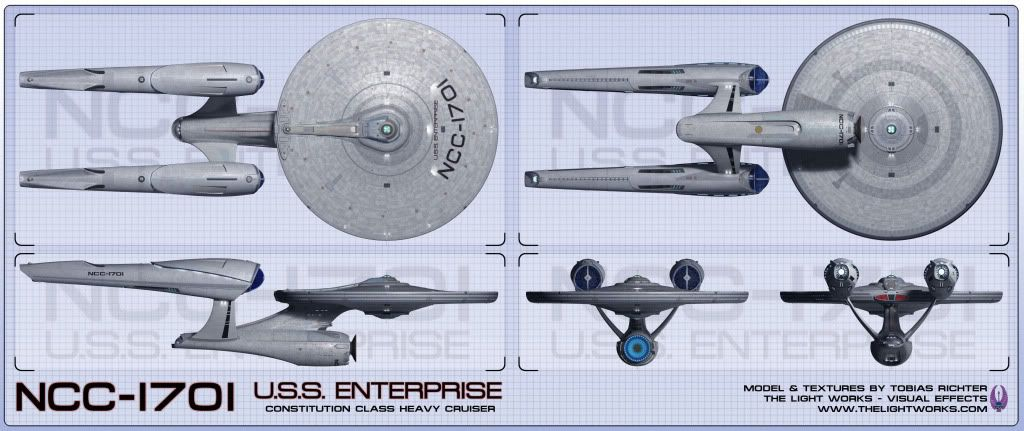 Screen Shot of JJ Abramsu0027 USS Enterprise NCC-1701 from 2009 - new enterprise blueprint apple