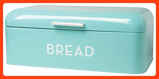 Turquoise Bread Box Now Designs Bread Bin Turquoise Blue  Bread Boxes  Pinterest