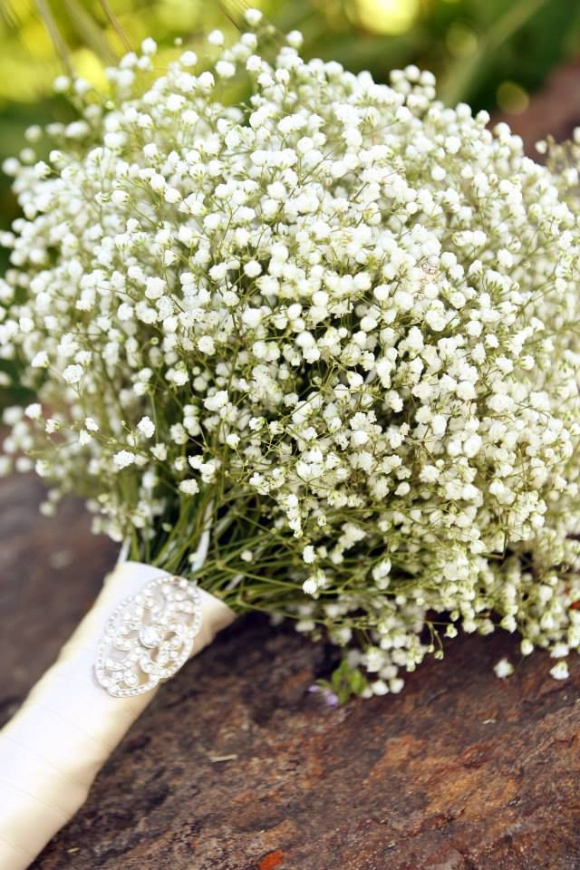 Simply stated baby's breath making a come back.