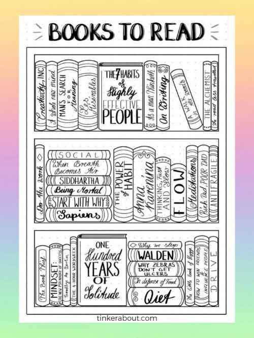 7 Books To Read That Might Just Change Your Life (+ Free Bullet Journal Printable)