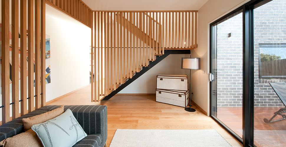 timber stair balustrades - Google Search | stair ...