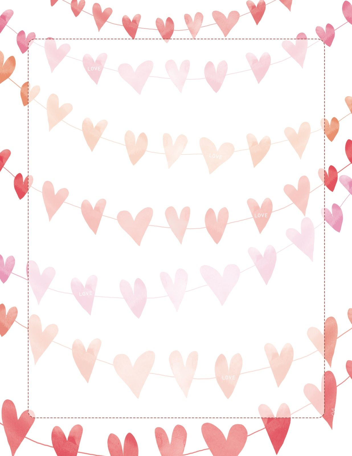 Arian Armstrong Free Download Valentines Printables Printable Stationery Letter Paper