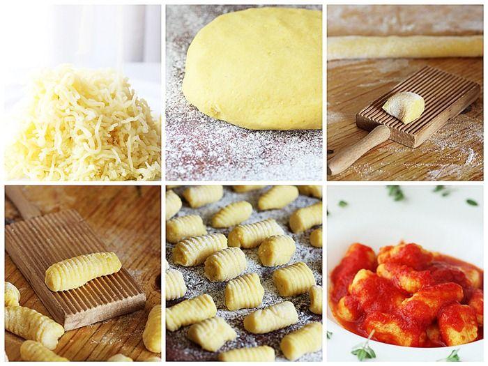 the gnocchi pomodoro (translated to english)