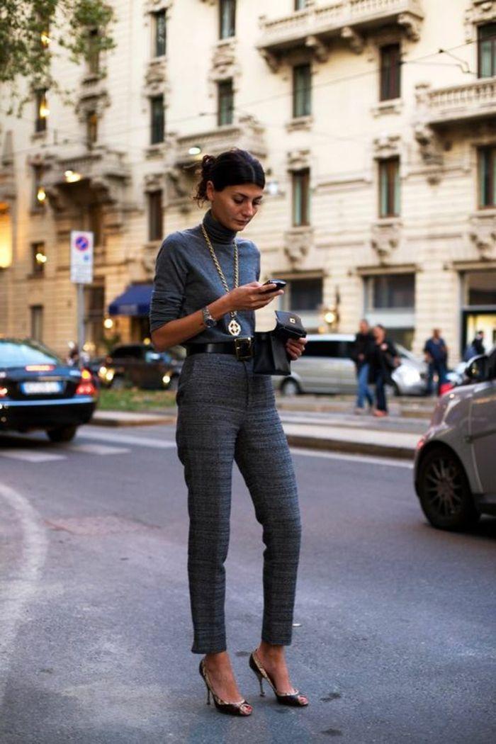 Moderne tenue classe femme une chouette idee comment s habiller gris costume