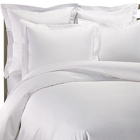 1000 Thread Count European Sham In White White Duvet Covers Bed Bath And Beyond Duvet Covers