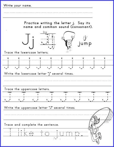 letter j worksheet for kindergarten malachi learning kindergarten worksheets preschool. Black Bedroom Furniture Sets. Home Design Ideas
