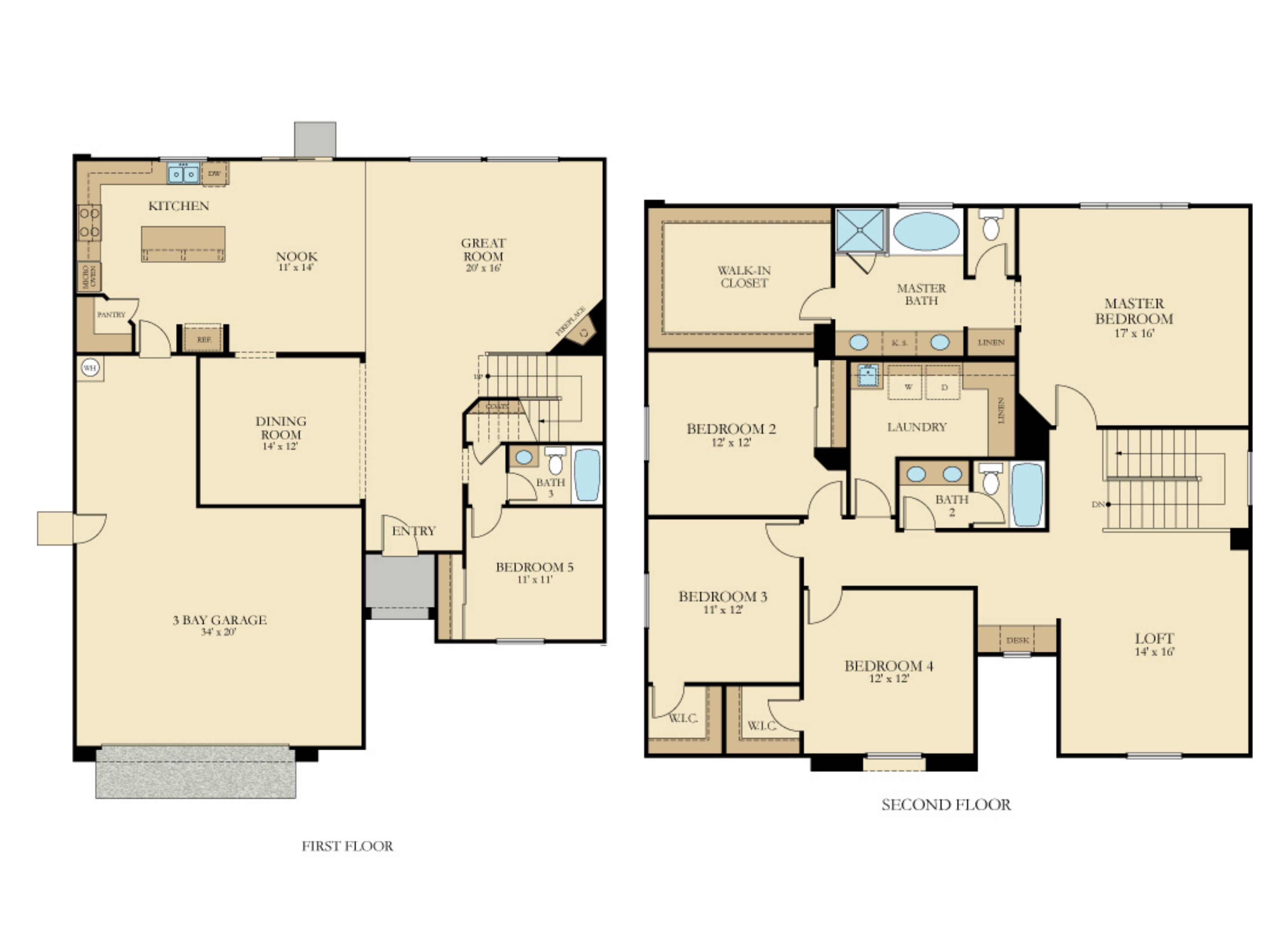 The Carlyle Plan 3105 New Home Plan In Diamante New House Plans Home Design Floor Plans House Plans
