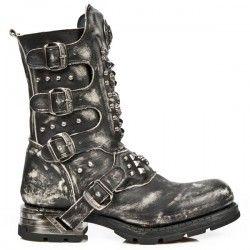 9e2c8fb355b Botte en cuir M.MR019-C2 New Rock   Footwear   Boots, Biker shoes ...