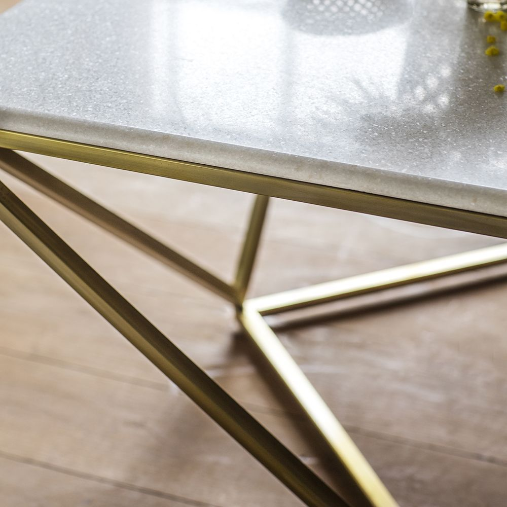 Zodiac Marble Coffee Table Coffee Table Stand Brass Coffee