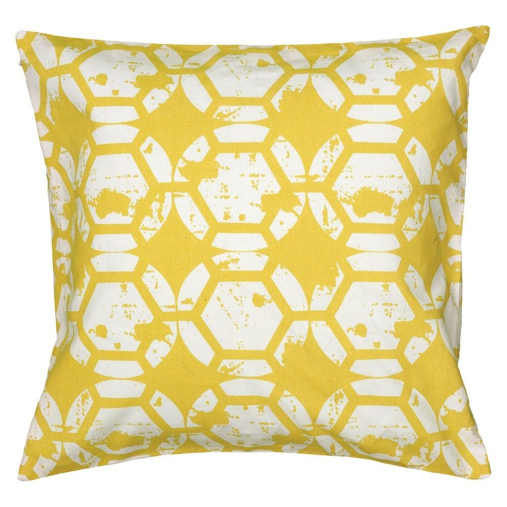 Rizzy home print pillow geometric design products pinterest
