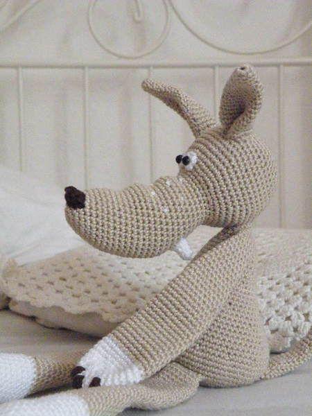 Puppen Häkelanleitung Wolf Amigurumi Ein Designerstück Von