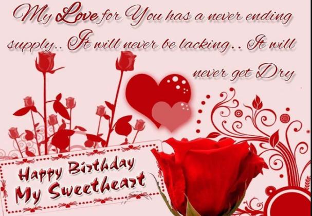 Sweet Happy Birthday Wishes For Girlfriend Met Afbeeldingen