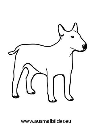 Ausmalbild Kleine Bulldogge In 2020 Ausmalbilder Hunde Bulldogge Ausmalen