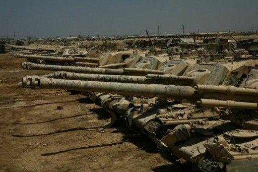 military junkyards graveyards and scrap vehicles tanks. Black Bedroom Furniture Sets. Home Design Ideas